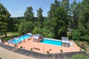 Fotka - Bazén s protiproudem