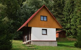 4 lůžková chata s koupelnou
